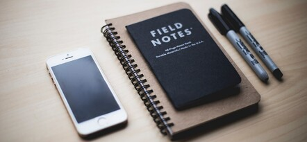 Phone and note books for international conference bids